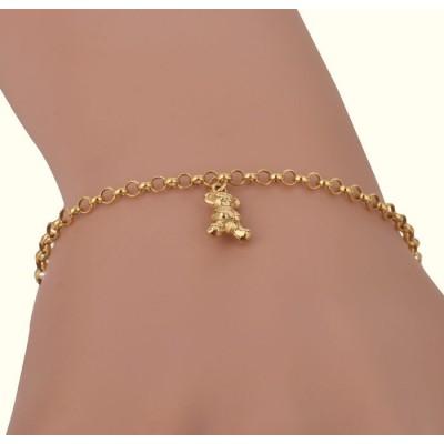 Bransoletka-złota-dla-dziewczynki