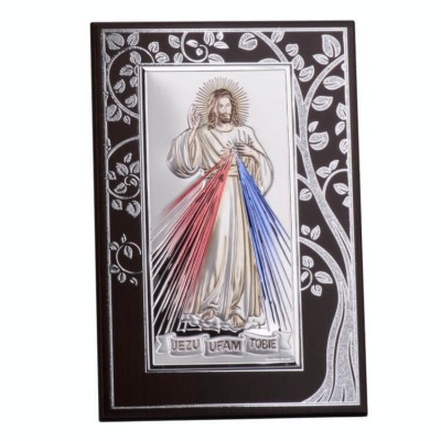 Jezu Ufam Tobie - Obrazek Srebrny