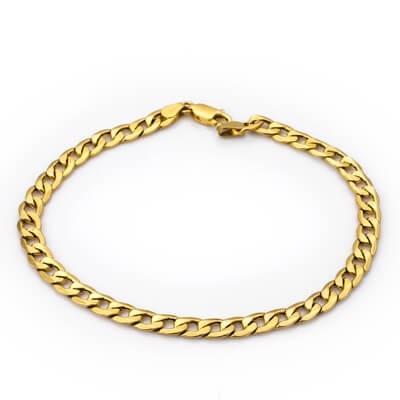 bransoletka złota pancerka