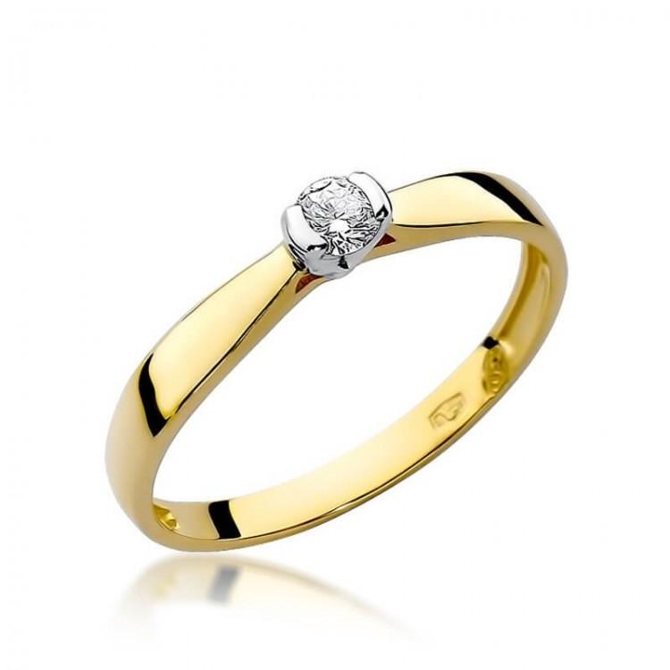 Złote obrączki ślubne. Au585.