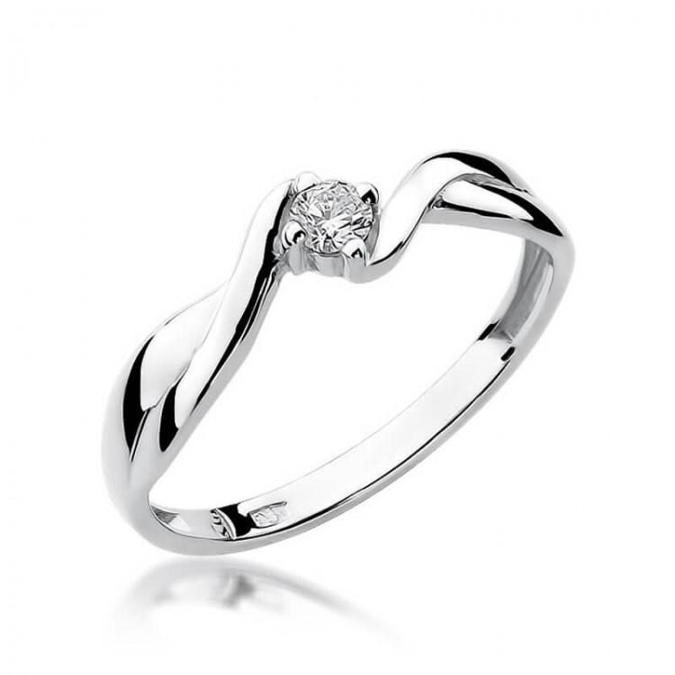 Pierścionek z diamentem niskie ceny