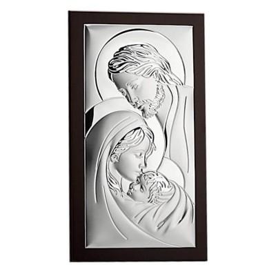 Obraz srebrny Św. Rodzina