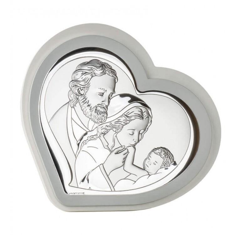 Prezent na Ślub Obrazek srebrny