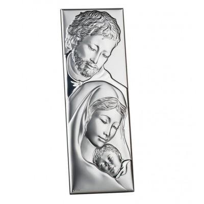 Obrazek srebrny - Prezent na Ślub Św. Rodzina