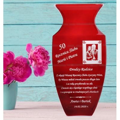 wazon ze zdjęciem
