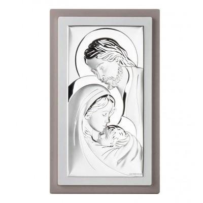 Obrazek srebrny Św. Rodzina Duży