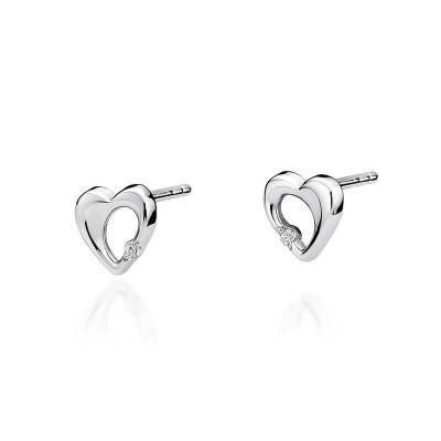 Kolczyki diamenty biżuteria