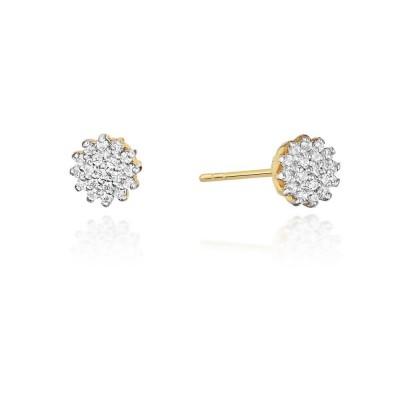 Kolczyki z diamentami - prezent