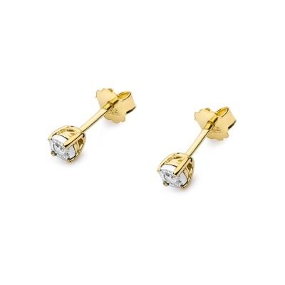Kolczyki z diamentami 585