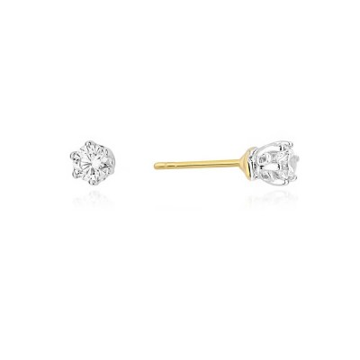 Biżuteria złota kolczyki duże brylanty
