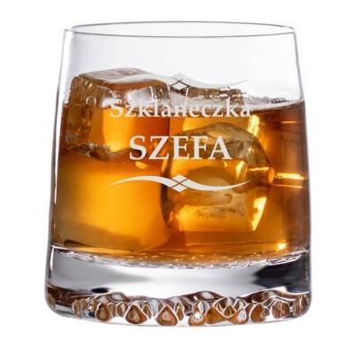 grawerowana szklaneczka z kompletu