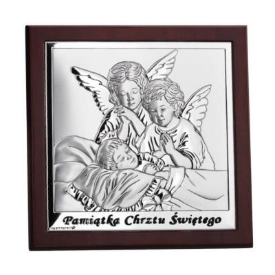 Aniołki-srebrne-chrzest