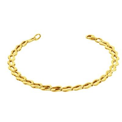 Bransoletka złota 333 Grawer