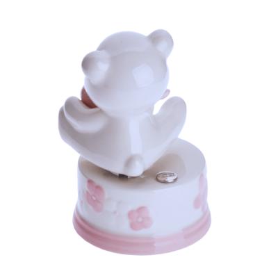 Pozytywka z ceramiki Miś