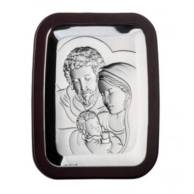 Obrazek srebrny Św.Rodzina