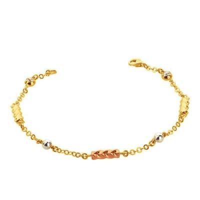 Bransoletka-złota 585
