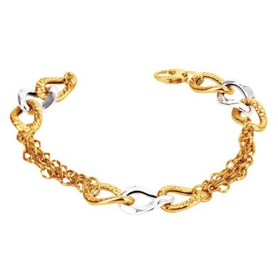 Bransoletka złota 585