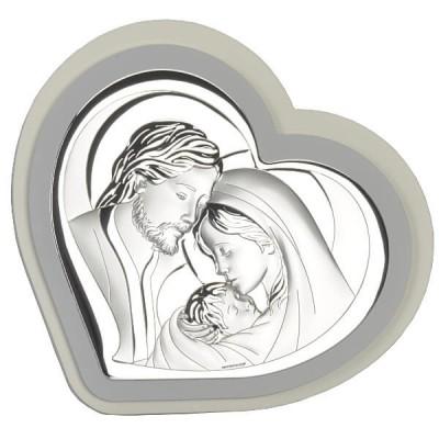 Obrazek z wizerunkiem Świętej Rodziny Serce