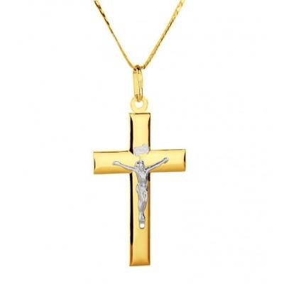 Złoty krzyżyk - pamiątka Chrztu Świętego