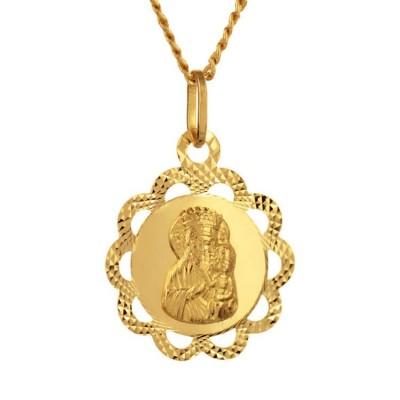 Medalik złoty na prezent