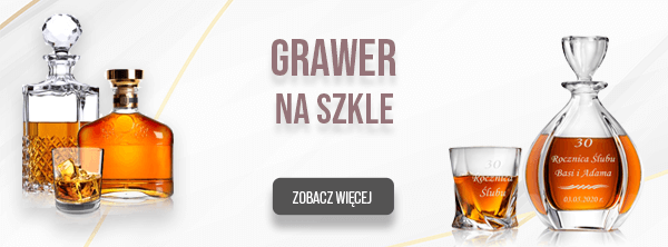 grawer na szkle